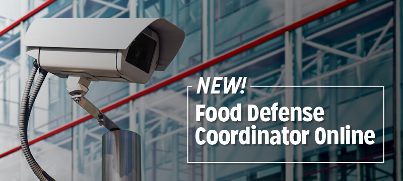 Food Defense Coordinator Online