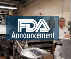 FDA Guidance Explains Enforcement Discretion Related to FSMA Provisions