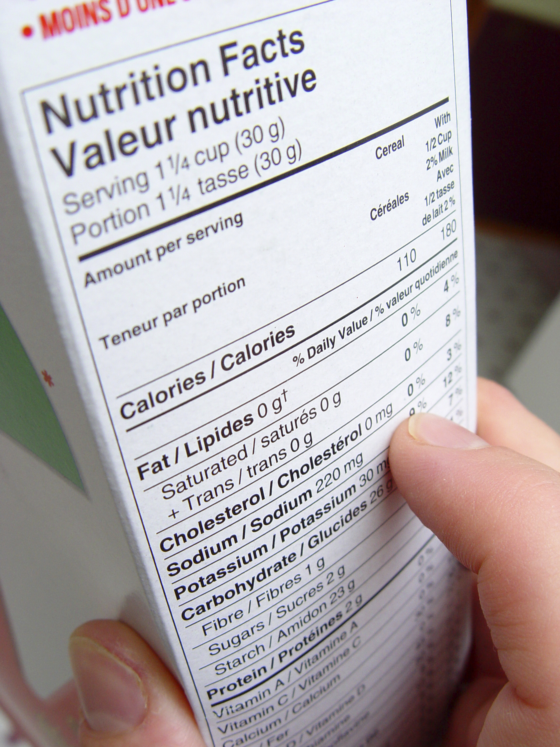 Tip of the Week: Making Nutrition Information Easier for Those With Diabetes