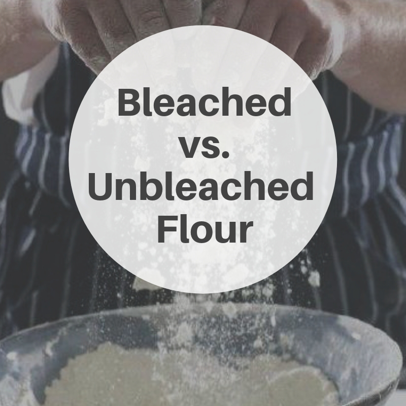 Tip of the Week: The difference between bleached and unbleached flour