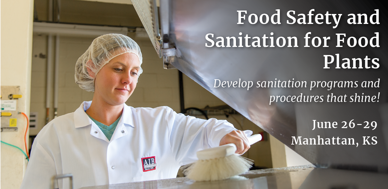 Food Safety and Sanitation for Food Plants